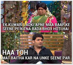5 Reasons Why Sunil Grover Is Better Than Kapil Sharma! - Rajnikant V/s CID Jokes Latest Funny Jokes, Very Funny Jokes, Crazy Funny Memes, Really Funny Memes, Funny Relatable Memes, Funny Quotes, Hilarious Memes, Fun Funny, Comedy Nights With Kapil