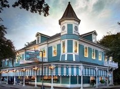 The Commander's Palace Restaurant in New Orleans ~ one of the nicest restaurants we've ever been to!