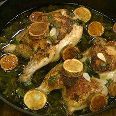 Lemon chicken recipe from the best Italian restaurant in Chicago!