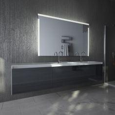 Beleuchteter Badezimmerspiegel Linea