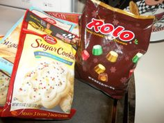 Rolo Sugar Cookies
