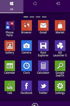 Windows 8 Go Launcher EX Theme截图1