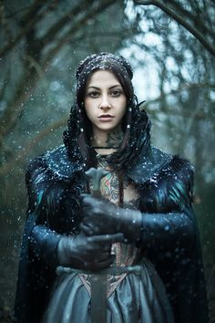 Gogo Blackwater as Arya Stark by Anna Lucylle Taschini