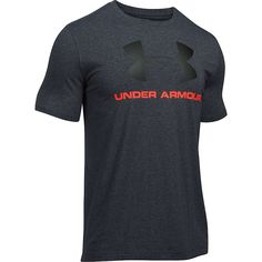 Pánské tričko Under Armour Big Logo - Ultimatesports.cz - Under Armour Under Armour Outfits, Under Armour Men, Hype Clothing, Athletic Outfits, Athletic Clothes, Boys Nike, Workout Shirts, Workout Gear, Printed Shirts