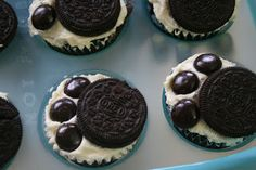 This would be cute with the oreos and candy dipped in purple frosting for Hampshire school colors :-)