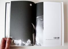 in love with this photo book - complete with time stamps!