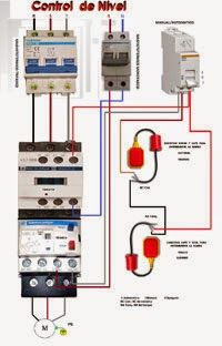 CONTROL DE NIVEL Electrical Circuit Diagram, Electrical Work, Electrical Projects, Electrical Installation, Electrical Engineering, Mechanical Engineering Technology, Control Engineering, Computer Projects, Electronic Circuit Projects