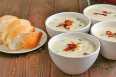 A thick, rich, chunky soup, with a pronounced corn flavor, and all round deliciousness. Perfect for Fall, this Best Ever Corn Chowderwill be loved bythe whole family! Is it a soup or is it a chowder?? Ever wondered what the difference is between a cream soup and a chowder? ME TOO! Before I learned to cook, I always thought they were the same thing, but I have since learned that to be called a chowder, it needs to use flour as a thickening agent and is generally chunky, vs a cream soup that…