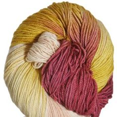 Fleece Artist Woolie Silk Yarn - 13 Mothers Day Bouquet Collection - Peach Blossom