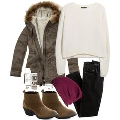 """""""Allison Inspired Outfit with Requested Parka"""" by veterization on Polyvore"""