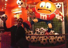 me @ M's store, London