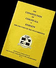 'THE CONSTITUTION OF CORNWALL OR KERNOW - THE COUNTRY OF THE WEST BRITONS' | Cornish Stannary Publications     ✫ღ⊰n