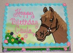 pictures of a horse cake | Pin Crumb Pink Horse Cake Cake on Pinterest