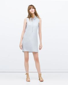 Image 1 of DRESS WITH ZIP AT THE FRONT from Zara