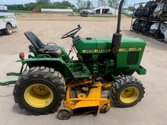 Garden Tractors For Sale, Ford Tractors For Sale, John Deere Garden Tractors, John Deere Equipment, Heavy Equipment, John Deere Compact Tractors, Utility Tractor, Ford Mustang, Trailers