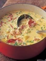 Barefoot Contessa - Recipes - Lobster Corn Chowder