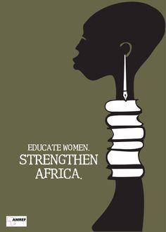 Black Women Art!, AMREF is an international African organisation...