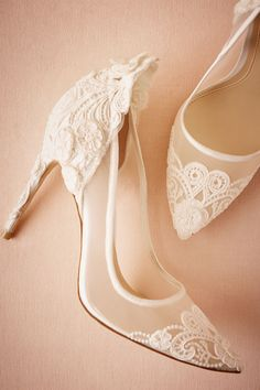 Victoria Pumps from @BHLDN