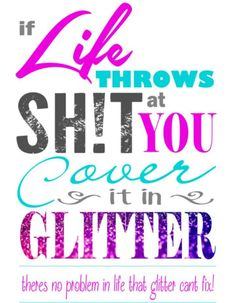 Glitter Sayings