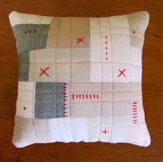 Quilted Patchwork Pincushion #1 | Flickr - Photo Sharing!