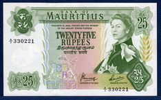 mauritius money - Google Search Legal Tender, Thing 1, Mauritius, Queen Elizabeth, Money, Fields, Green, Centre, Numbers