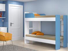 Beliches como essa pra você incrementar o quarto dos seus filhos e economizar espaço: http://maga.lu/18CNjlv