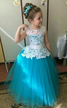 Dresses Little Girl Dresses, Girls Dresses, Flower Girl Dresses, Toddler Dress, Baby Dress, Baby Frocks Designs, Kids Gown, Party Frocks, Kids Frocks