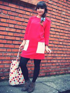 A picture an hour – En février, je fais ce qui me plait ! Hello It's Valentine, Red And White Dress, Plait, Dresses, Fashion, Style Ideas, Vestidos, Moda, Fashion Styles