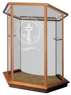 Church Furniture Store   Foundation Glass  Pulpit,(http://www.churchfurniturestore