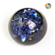 Aventurina blue - blaues Aventurin - glass frit - Glas Fritten COE 104 - AK 104 www.vetromagic.com
