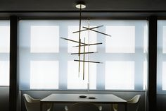 Whether commissioned to provide an elaborately grandiose chandelier for a Chamonix chalet, uniquely minimalist metal lighting systems...