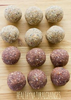 A nut free bliss ball suitable for back to school.