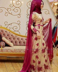 Abiye elbise #tesettür