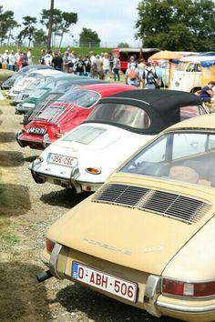 Porsche 901 and 356