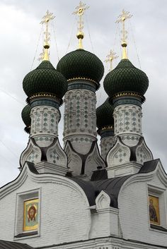 The Assumption Church of Nizhny Novgorod, Russia Russian Architecture, Sacred Architecture, Religious Architecture, Church Architecture, Beautiful Architecture, Beautiful Buildings, Beautiful Places, Ukraine, Assumption Church