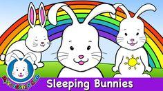 Sleeping Bunnies - Nursery Rhymes - HD