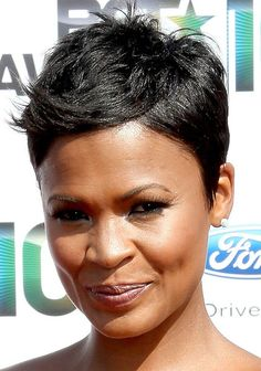 this hairstyle of Nia Long's inspired my haircut a while back.