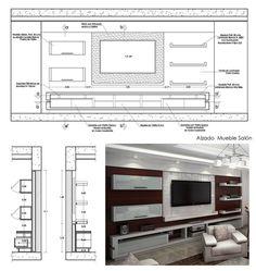 48 veces he visto estas serenas muebles minimalistas. Tv Cabinet Design, Tv Wall Design, Tv Unit Design, Bedroom Closet Design, Tv In Bedroom, Tv Unit Furniture Design, Lcd Panel Design, Drawing Furniture, Modern Tv Wall Units