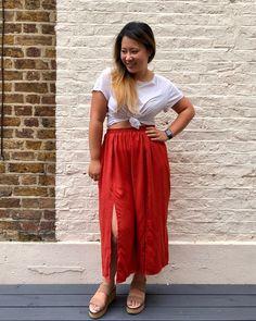 The Rae pants // Named Clothing - Self Assembly Required Named Clothing, Crochet Instructions, Box Bag, Love Shirt, Mandarin Collar, Holiday Dresses, Casual Shirts, Shirt Dress, Pattern