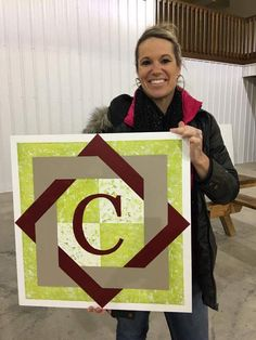Barn quilt my first!