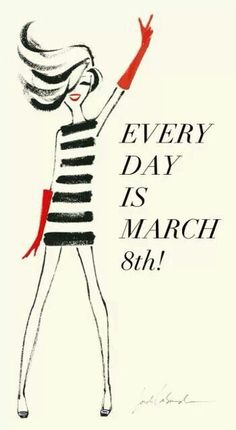 Día de la mujer por Jordi Lavanda