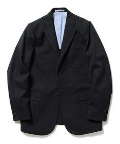 BEAMS PLUSのBEAMS PLUS / ウール トロピカルストレッチ 3B ジャケットです。こちらの商品はBEAMS Online Shopにて通販購入可能です。