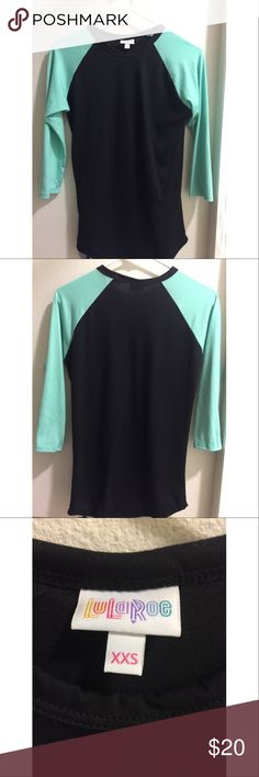 Brand New Lularoe Randy Tee Very cute Randy tshirt! Never been worn! LuLaRoe Tops Tees - Long Sleeve