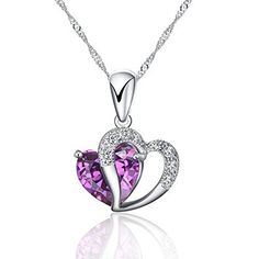 New 925 Sterling Silver Heart Shape Pendant Necklace Including 925 Sterling Silver Plated Chain '18 Inch Silver Heart Pendant Love Gift Unbranded http://www.amazon.com/dp/B01DJECCJ0/ref=cm_sw_r_pi_dp_tJu.wb0HC7C70