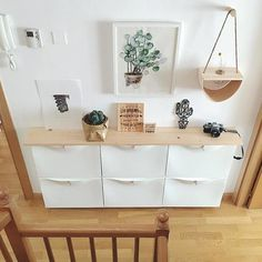 These IKEA built-in hack ideas will add tons of storage space to your home. The IKEA closet hack looks like a real built-in-closet, and you'd never guess the kitchen island is made of bookcases. Great storage ideas using IKEA hacks. Interior Design Living Room, Living Room Decor, Bedroom Decor, Ikea Home, Hallway Decorating, Diy Furniture, Diy Home Decor, Sweet Home, House Design