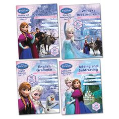 Frozen Learning Workbooks Ages 6-7 Pack
