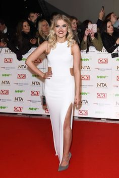 Celebrity latest photos, style, videos and more. Lucy Fallon, Holly Willoughby, Social Media Stars, Red Carpet Gowns, Three Daughters, Coronation Street, Celebrity Pictures, Fancy, Actresses