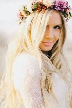This floral crown ♥