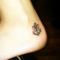 anchor tattoos for girls | ... anchor tattoos for girls are typically inked in more discreet