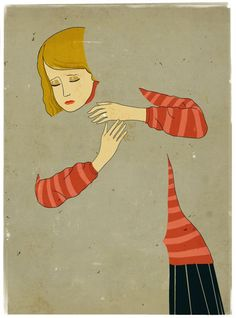 Emiliano Ponzi/ Ela sente saudade, mas só de vez em quando.